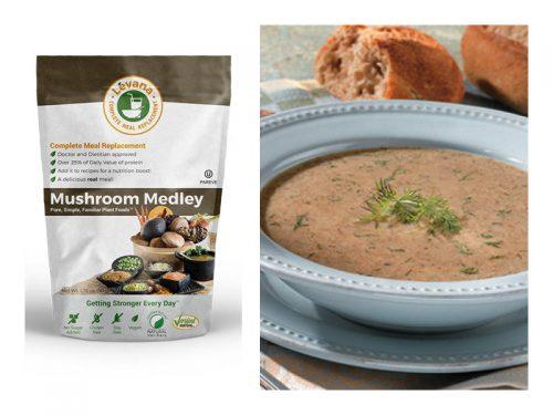 wild mushroom soup lmr