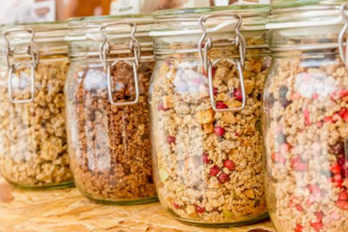 unsweetened granola recipe