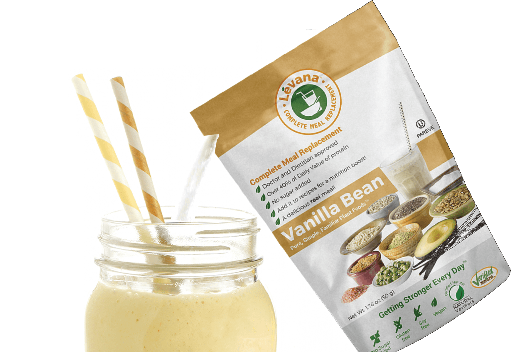 Levana Meal Replacement - Vanilla Bean Powder Pour